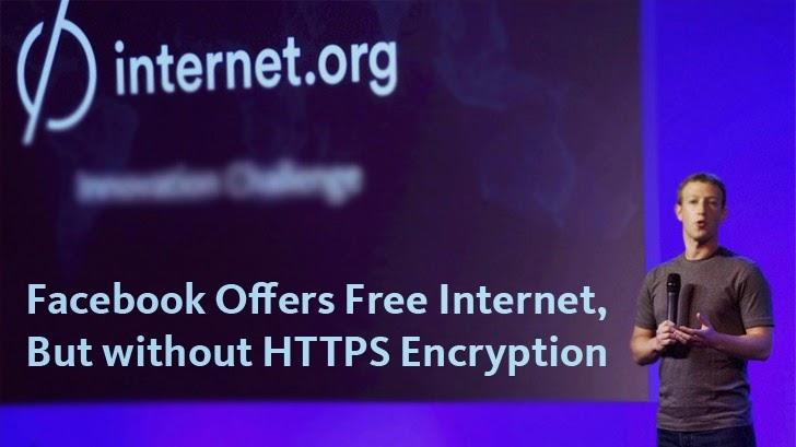 فیس بوک اینترنت آزاد می دهد، اما بدون HTTPS