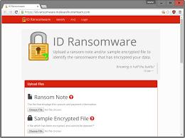 تشخیص باج افزار: معرفی سرویس آنلاین ID Ransomware