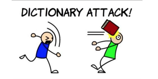 حمله Dictionary یا لغتنامهای :