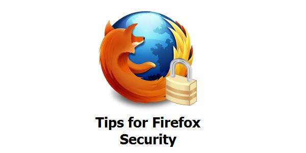 نکتههای امنیتی فایرفاکس