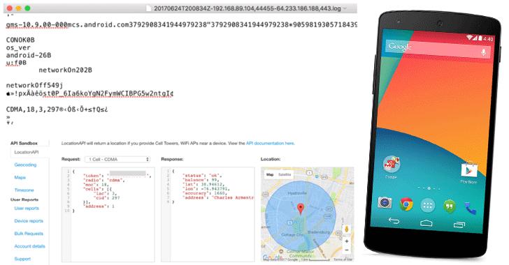 گوگل دادههای موقعیت تلفنهای اندروید را جمعآوری میکند