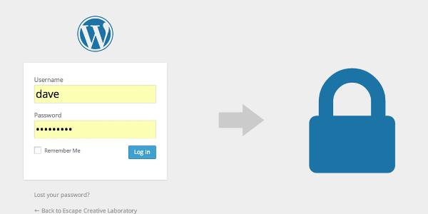 مقدمهای بر امنیت وردپرس : امنیت رمزعبور