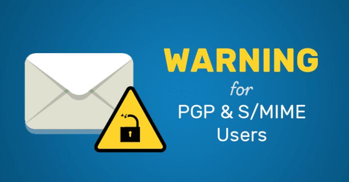 هشدار : آسیبپذیری در PGP و S/MIME