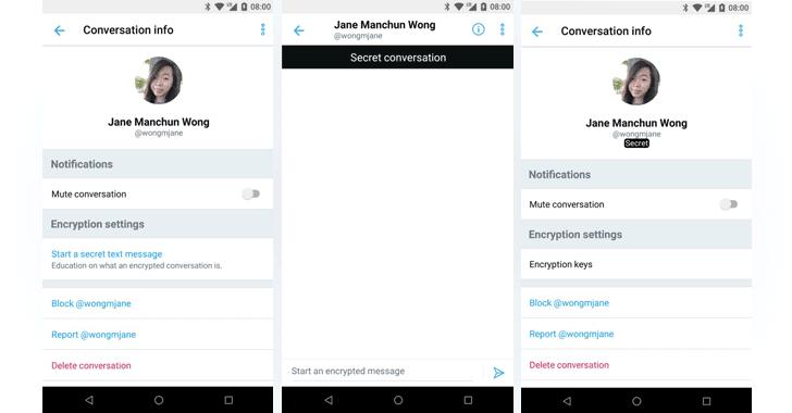 توییتر امکان رمزنگاری end-to-end در پیام خصوصی را فعال خواهد کرد