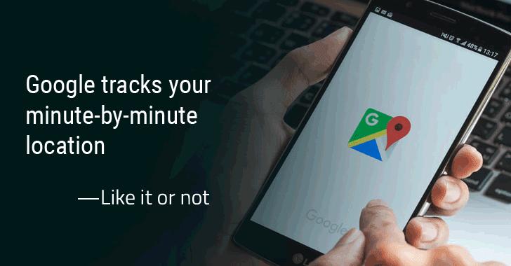 گوگل حتی با غیرفعال کردن Location History کاربران اندروید و آیفون را ردیابی میکند