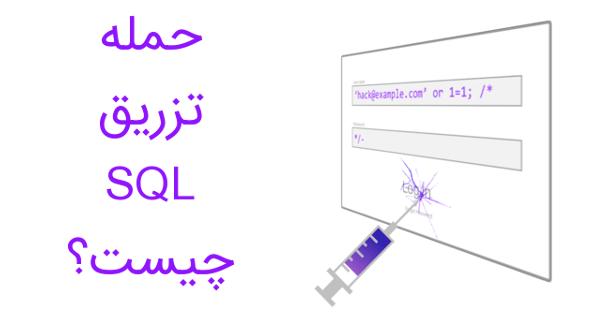 اینفوگرافیک حمله تزریق SQL چیست