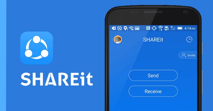 آسیبپذیری بحرانی امنیتی در اپلیکیشن SHAREit اندروید