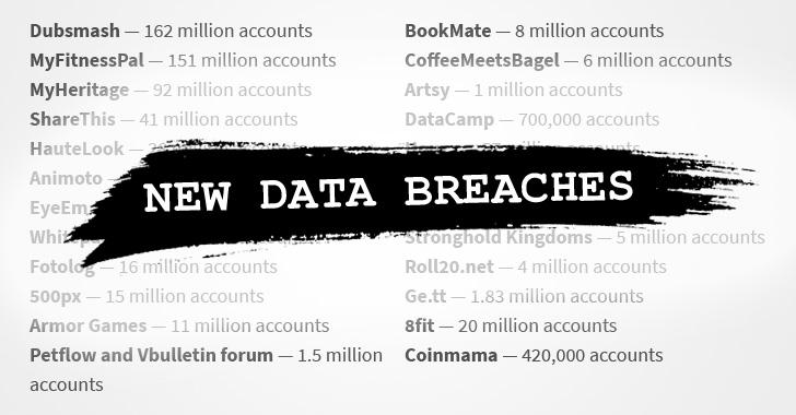 هکر اطلاعات میلیونها کاربر دهها وبسایت را برای فروش گذاشت