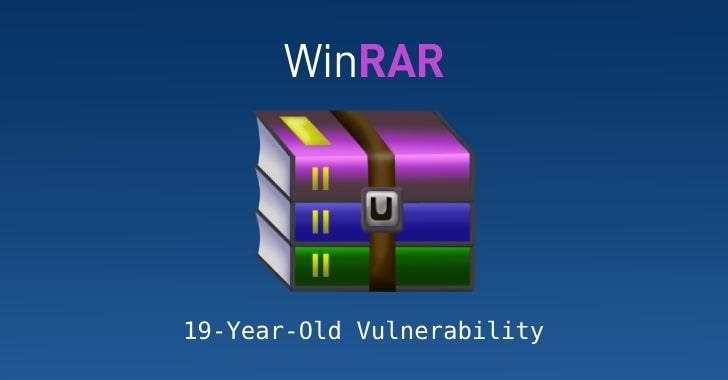 آسیبپذیری بحرانی در WinRAR در تمام نسخههای ۱۹ سال گذشته آن