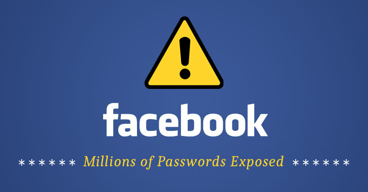 فیسبوک میلیونها رمزعبور را بدون رمزگذاری ذخیره کرده بود