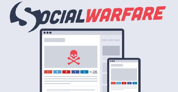 آسیبپذیری بحرانی در پلاگین وردپرس – پلاگین Social Warfare