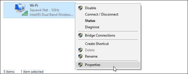 راهنمای تغییر DNS سرور در ویندوز