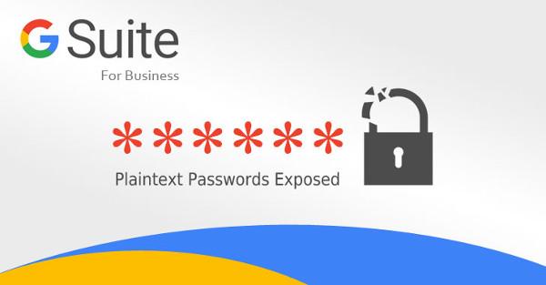 گوگل رمزعبور کاربران G Suite را به شکل متن ساده ذخیره کرده بود