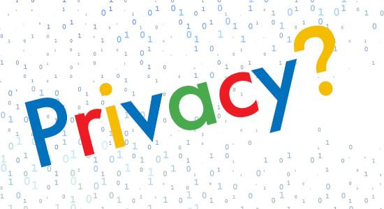 حفظ حریم شخصی در گوگل