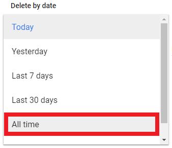حریم شخصی در گوگل