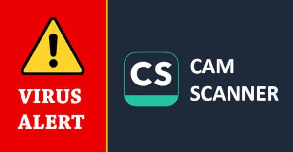 بدافزار در اپلیکیشن CamScanner اندروید