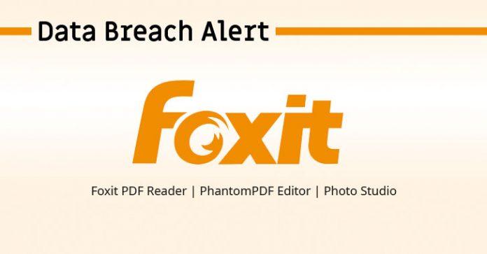 افشای داده در نرم افزار Foxit PDF