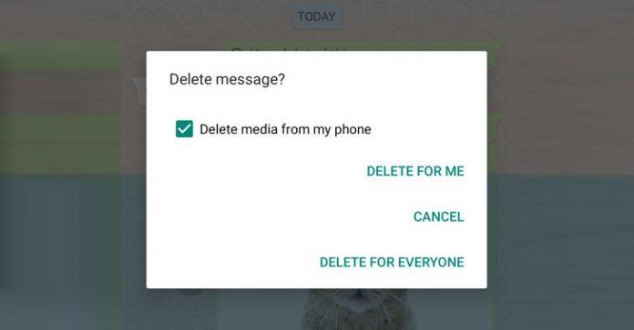 گزینه Delete for Everyone واتزاپ فایلهای مدیا روی آیفون را پاک نمیکند