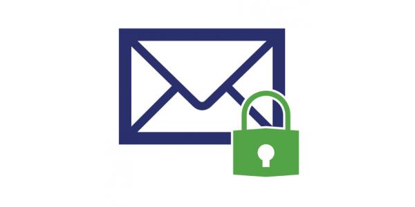 اینوگرافیک رمزگذاری ایمیل
