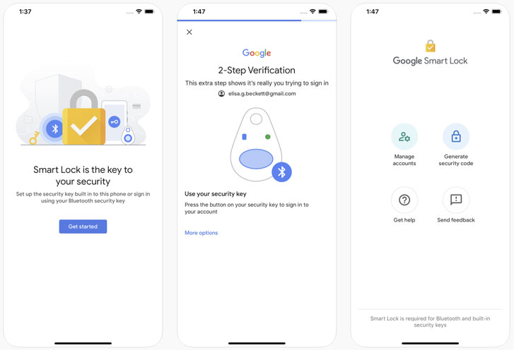 از آیفون بعنوان کلید امنیتی سختافزاری برای حفاظت از حساب گوگل استفاده کنید